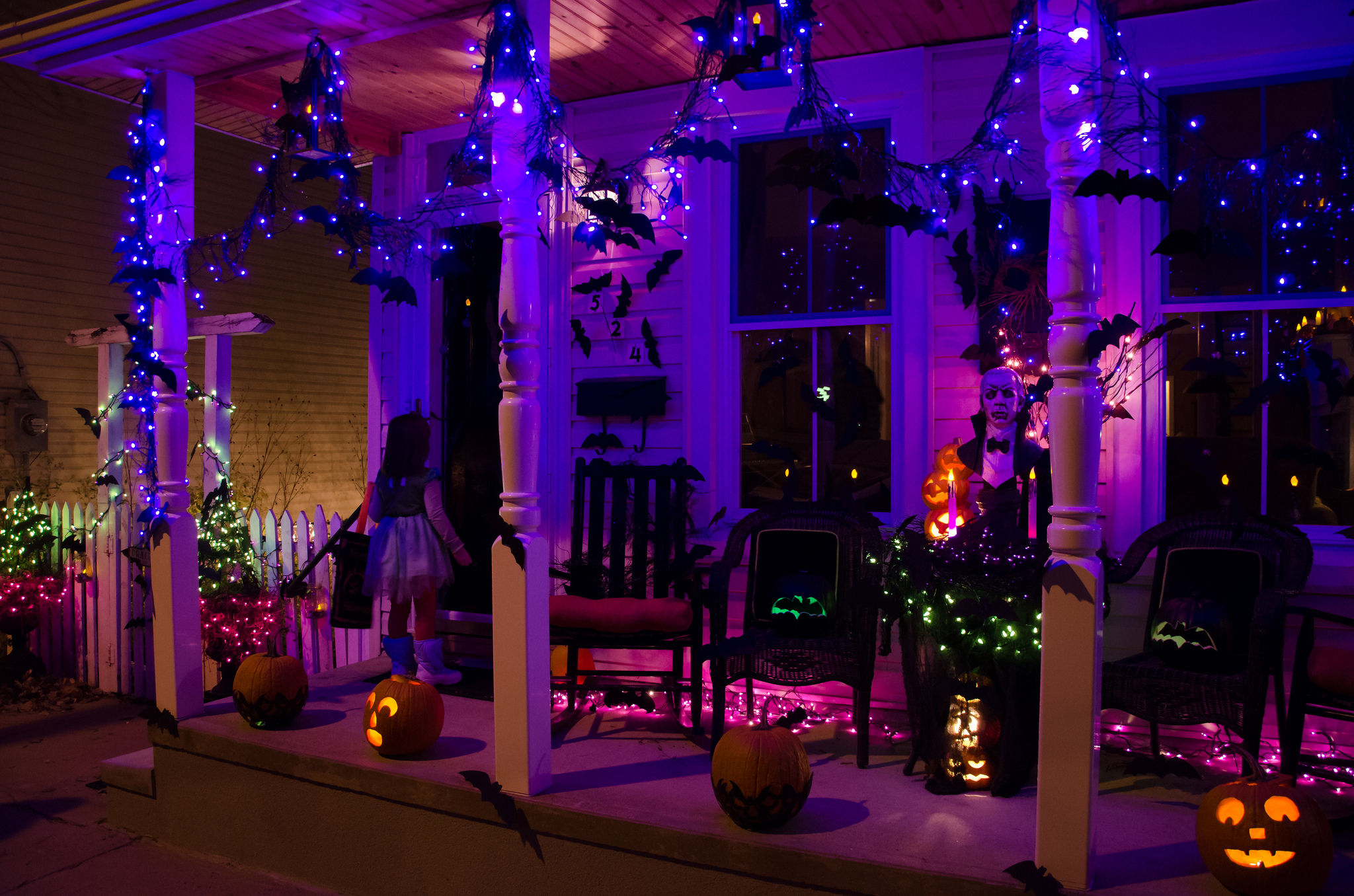 easy outdoor house lighting design. halloween lights 5 Holiday Lighting  Dailey Maintenance LLC