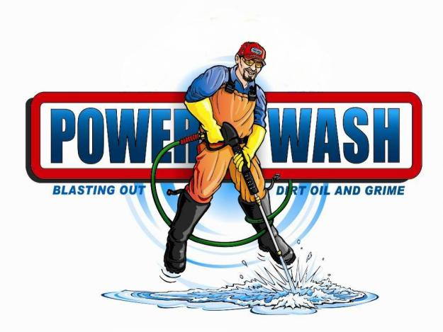 Power Wash Logo Dailey Maintenance Llc
